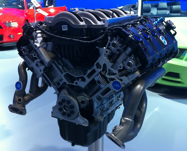 The Ford 5L Engine built at the Essex Engine Plant.