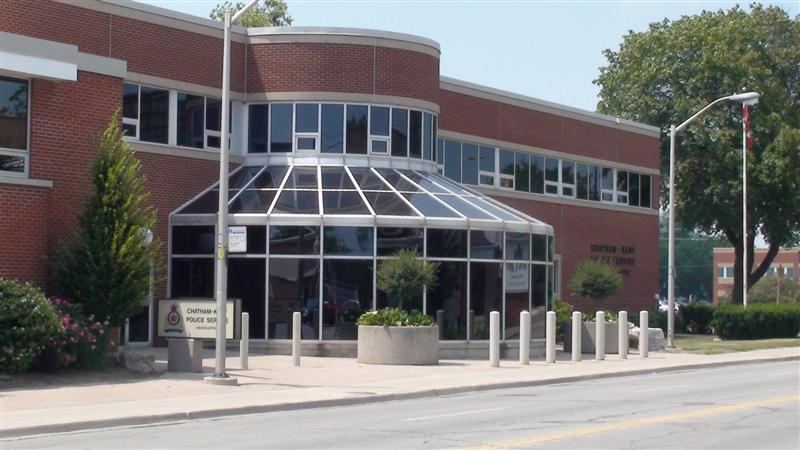 Chatham-Kent police headquarters