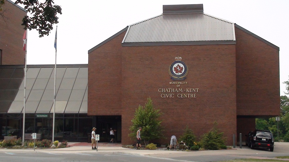 The Civic Centre in Chatham. (BlackburnNews.com file photo)