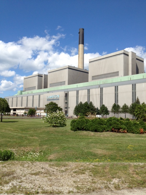 Lambton Generating Station (Blackburnnews.com File Photo)