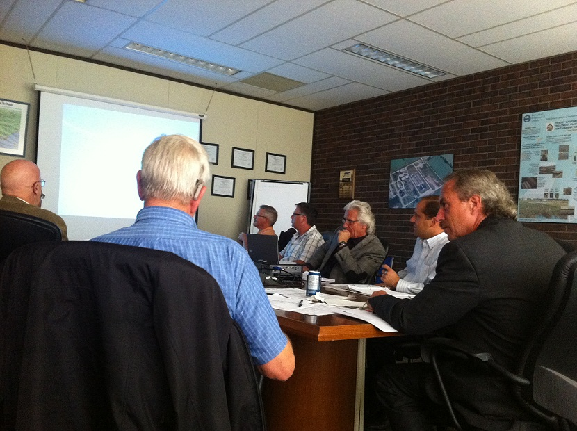 Chatham-Kent PUC committee meeting. (Photo by Simon Crouch)