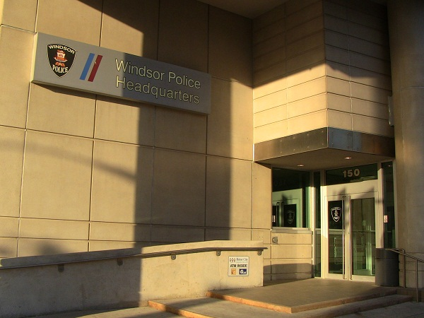 Windsor Police Services headquarters on Goyeau St. in downtown Windsor. (BlackburnNews.com file photo)