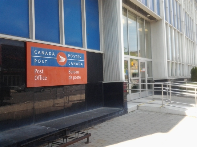 File photo, Canada Post's downtown Windsor location. The corporation is looking to close its office in Old Sandwich Town.