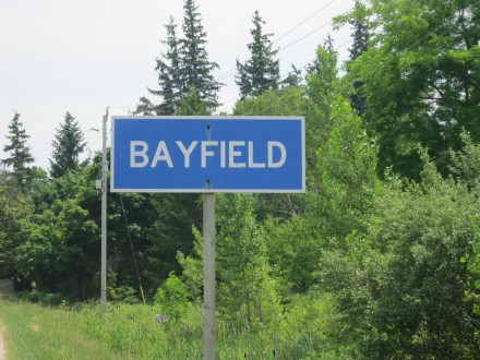 Bayfield Sign