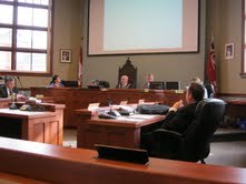 Goderich Council Chambers 2013