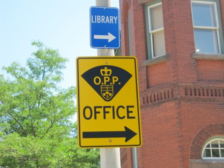 OPP Sign in Clinton