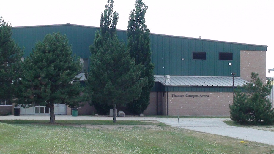 The Thames Campus Arena in Chatham. (BlackburnNews.com file photo)
