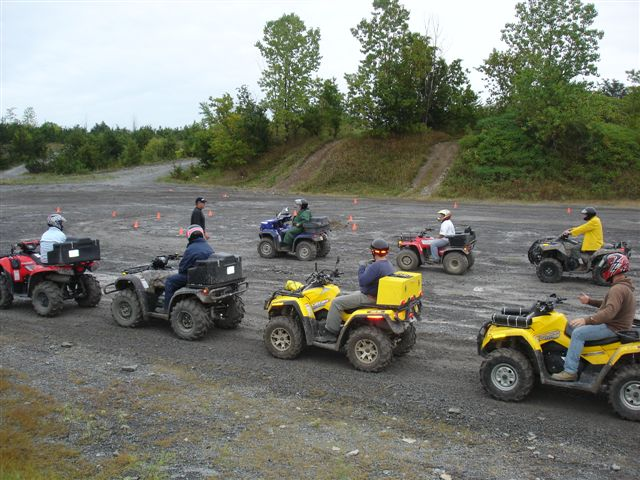 ATV training. (Photo courtesy of atvtrainingontario.com)