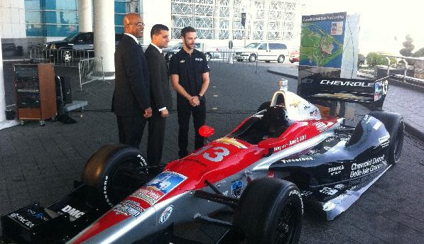 Detroit Belle Isle Grand Prix Car-3 w Francis and Hinchcliffe