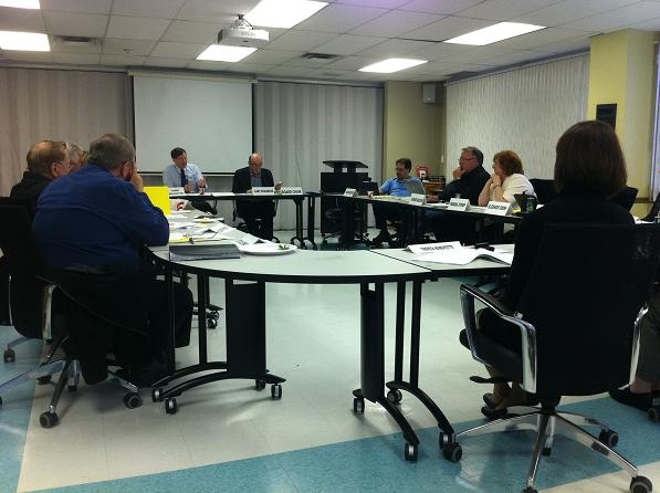 Windsor Essex County Health Unit Board of Directors meeting, April 18, 2013.