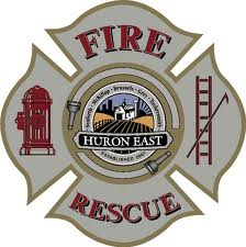 Huron East Fire Dept. logo
