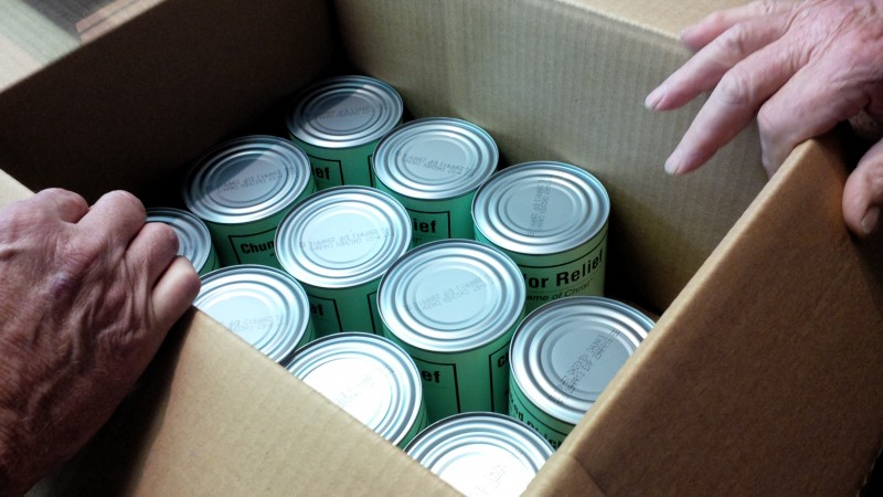 leamington, mennonite central committee, essex county, canning project, donations
