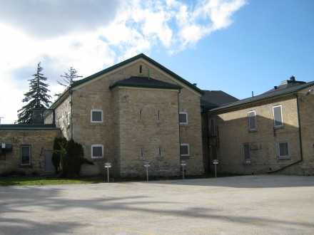 The former jail in Walkerton.  Stock photo.