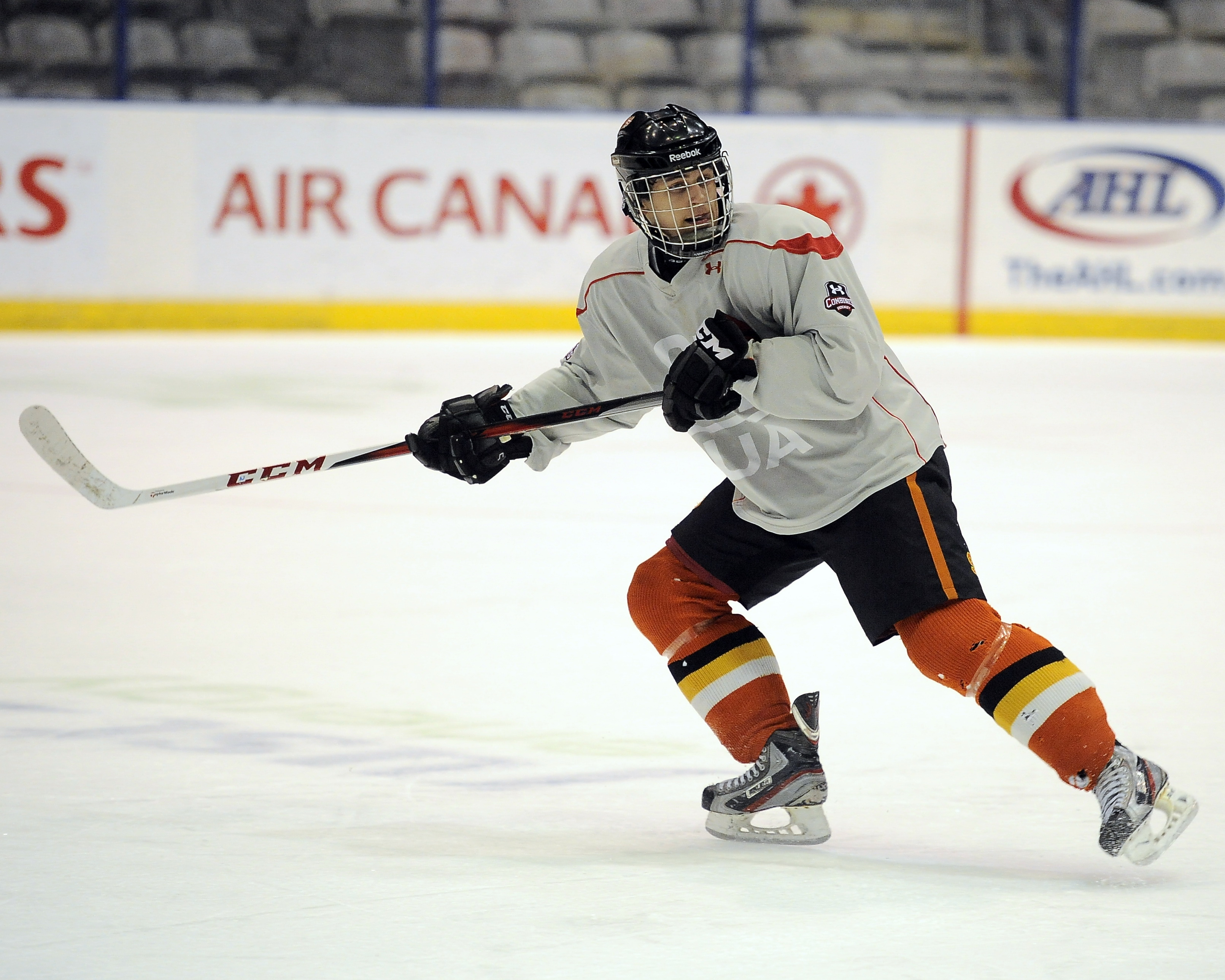 Travis Konecny at the 2013 OHL Prospects Combine. (Photo courtesy of Aaron Bell/OHL Images)