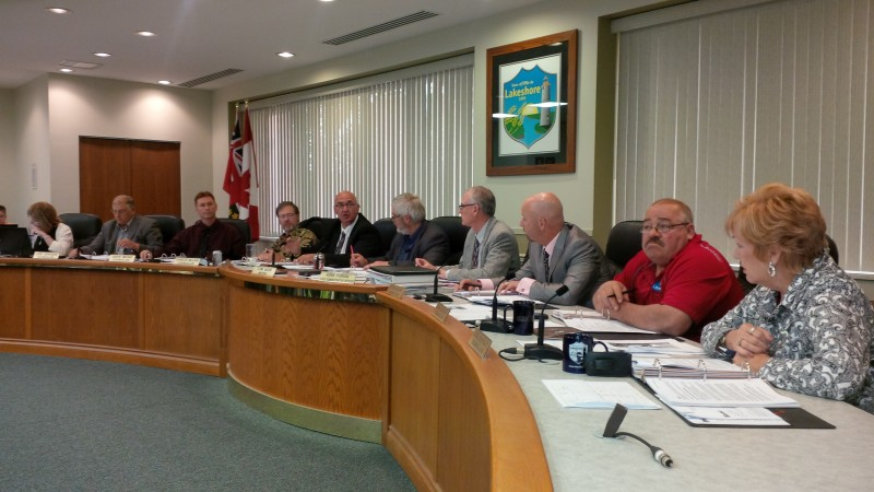 BlackburnNews.com file photo of Lakeshore Town Council.