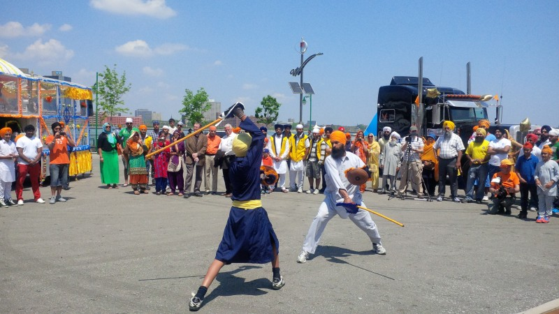 Hot Weather For Khalsa Day