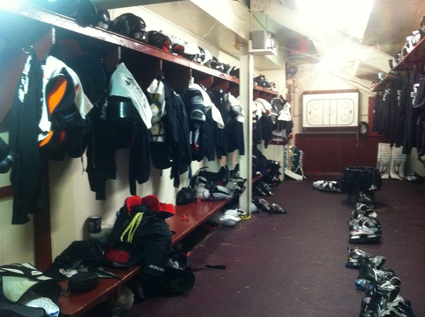Chatham Maroons Locker Room