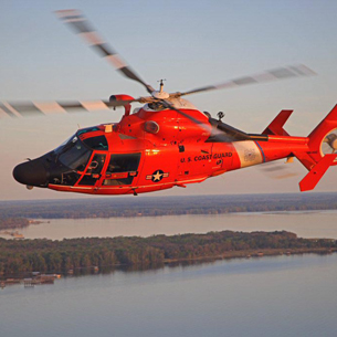 U.S. Coast Guard H-65 Helicopter - Detroit