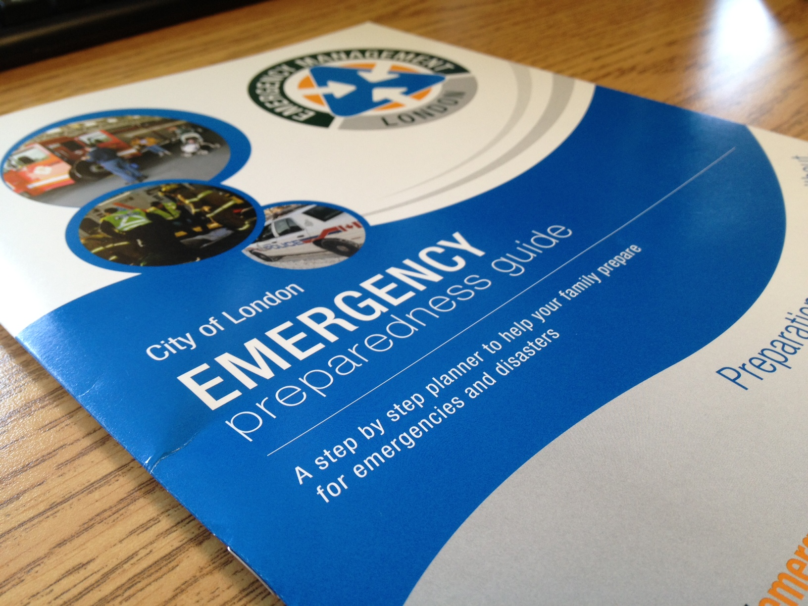 The City of London's Emergency Preparedness guide.