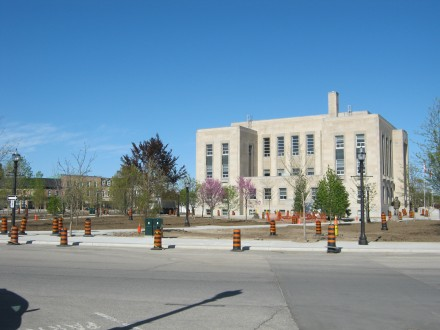No Washrooms at Goderich's Courthouse Park
