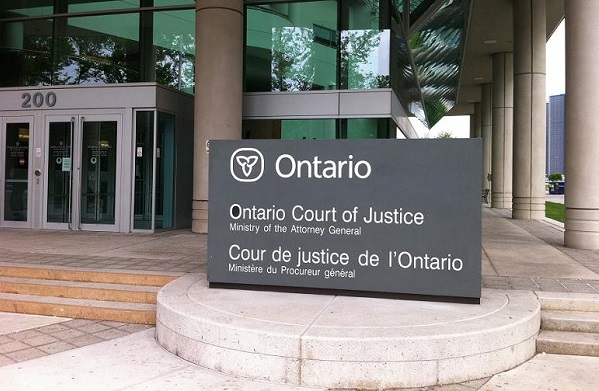 BlackburnNews.com file photo of the Ontario Court of Justice in Windsor.