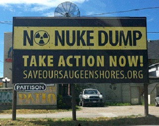 SOS Wants Nuclear Waste Kept Away From Lake Huron