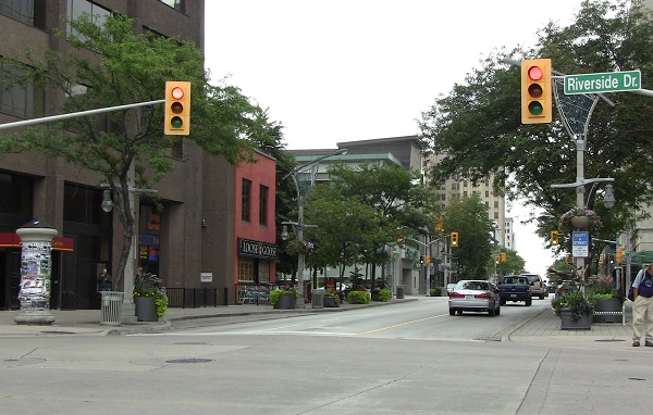 Downtown Windsor, Ouellette Ave.