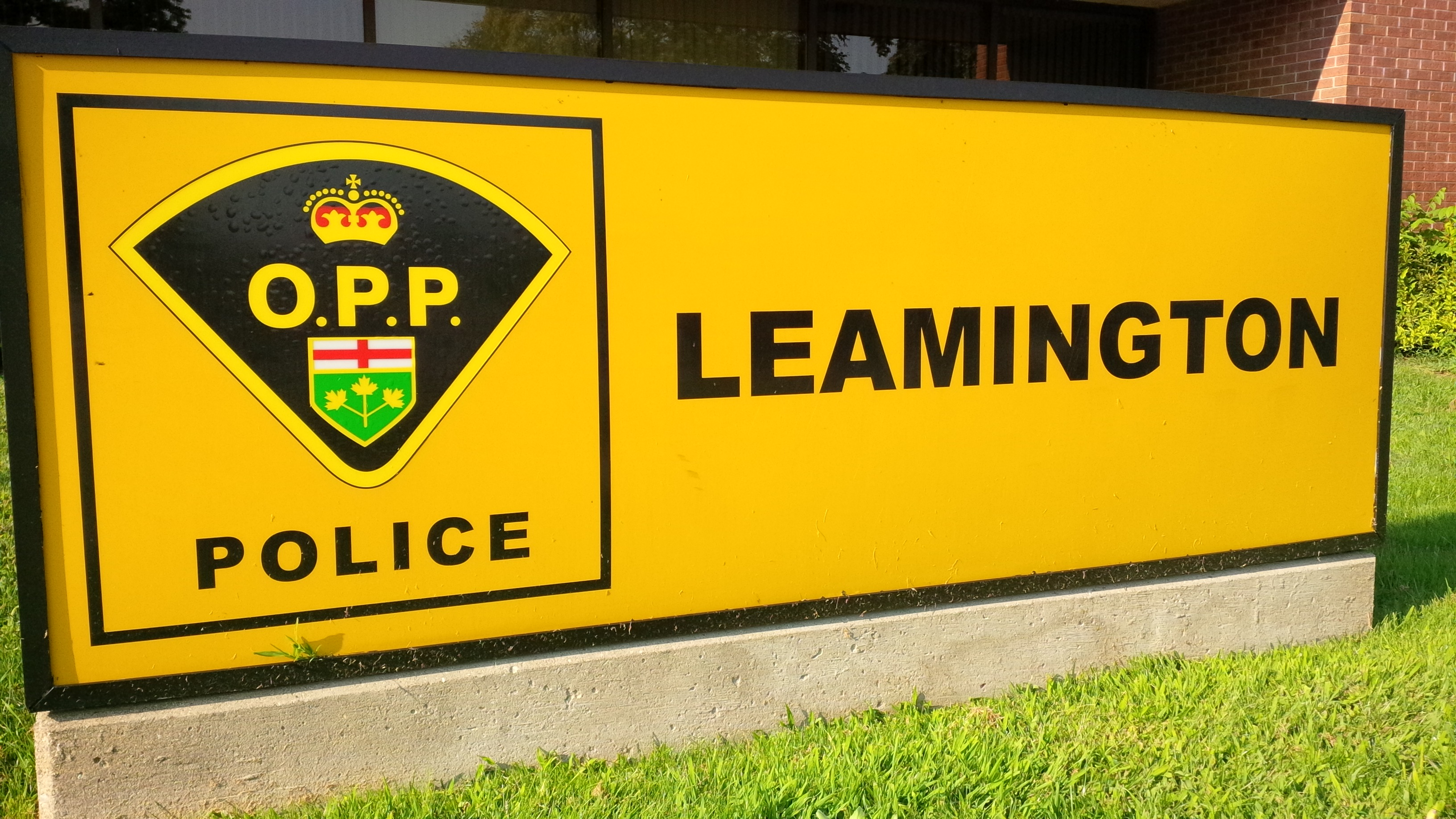 Leamington OPP station.