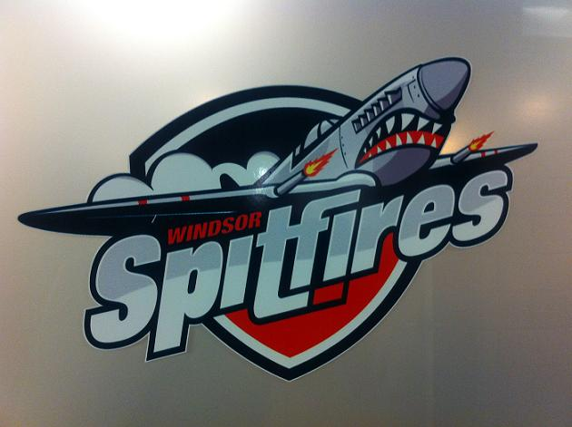 BlackburnNews.com file photo, Windsor Spitfires' logo.