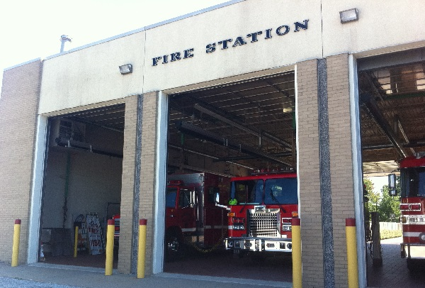 Amherstburg fire station.