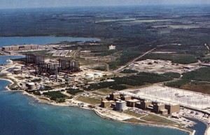 Bruce Power aerial shot