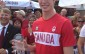 Corunna's Derek Drouin at a Welcome Home Party From 2012 Olympics (Blackburnnews.com Photo By Josh Boyce)
