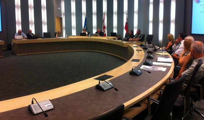 Council for the Town of Essex holds its meeting at the Essex Civic Centre, September 3, 2013.