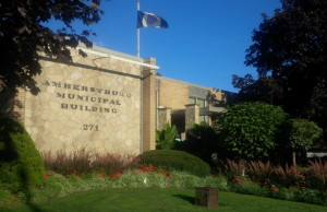 BlackburnNews.com file photo of Amherstburg Town Hall, photo taken September 23, 2013.