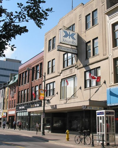 Kingsmill's Department Store on Dundas Street