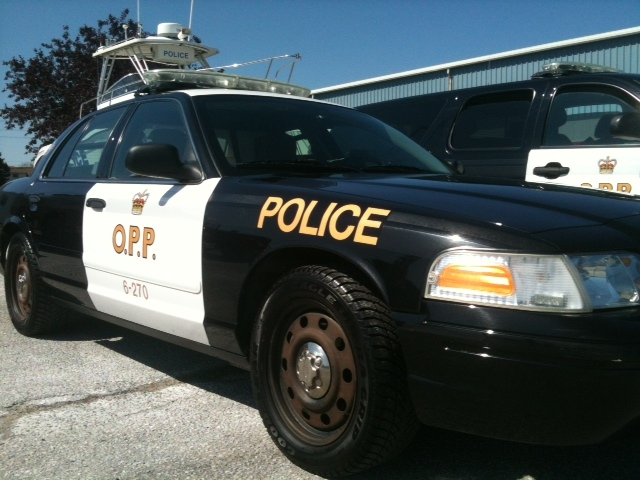 Lambton OPP cruiser. (BlackburnNews.com file photo by Melanie Irwin)