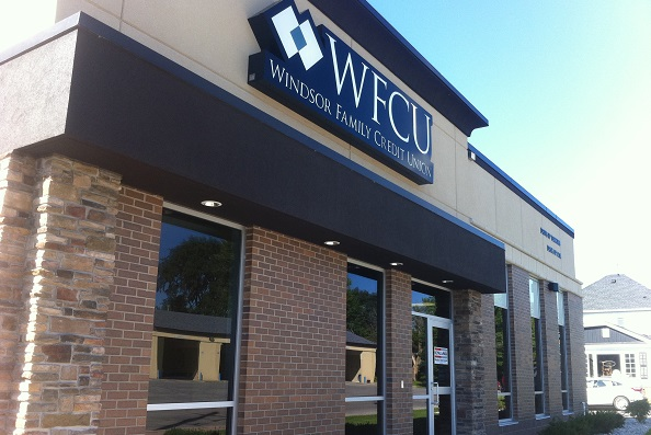 Amherstburg branch of the WFCU.