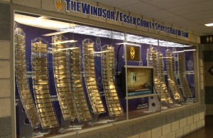 The Windsor/Essex County Sports Hall of Fame located at the WFCU Centre.
