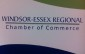Windsor-Essex Regional Chamber of Commerce sign