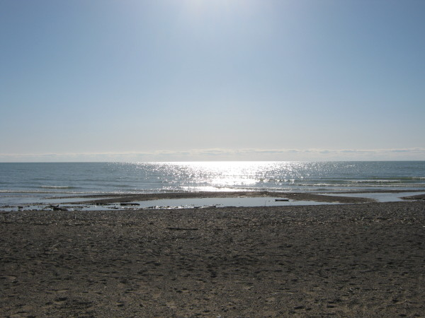 Lake Huron beach photo