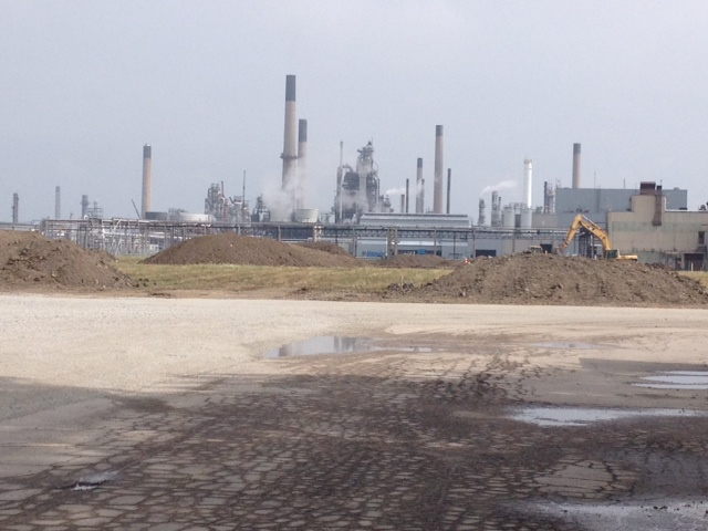 BlackburnNews.com File Photo of BioAmber's Bio-Succinic Acid Facility Site in Sarnia