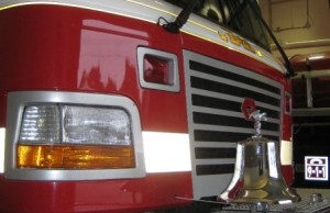 Front of Fire Truck