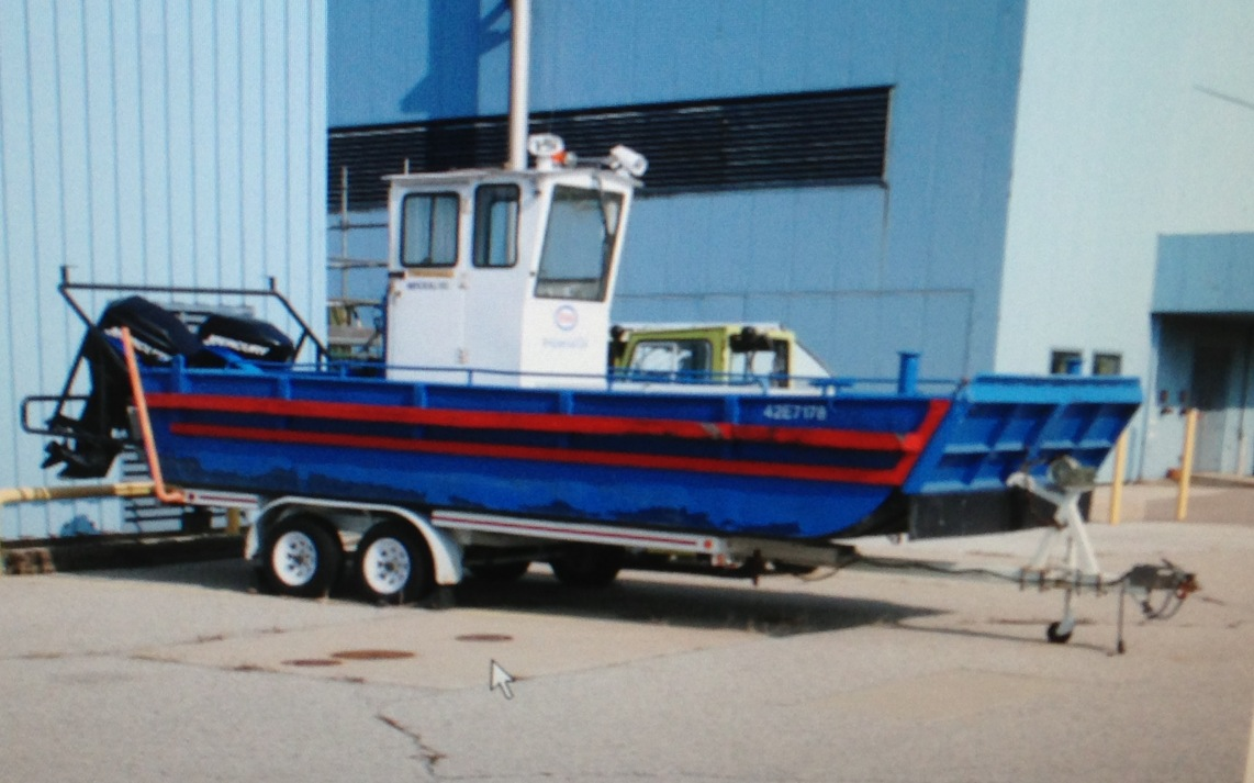 Sarnia Firefighters Train On New Boat