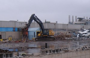 Navistar demolition file photo.