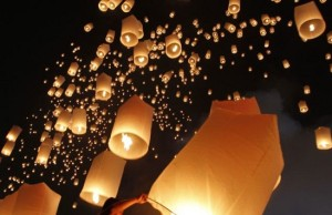 Flying Lanterns photo