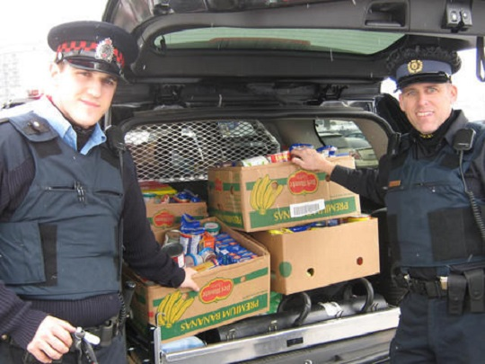 Perth OPP Auxiliary Support Food Banks