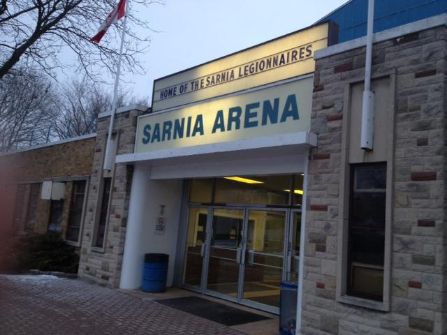Sarnia Arena Blackburnnews.com (Photo by Josh Boyce)