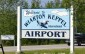 Wiarton Keppel airport sign