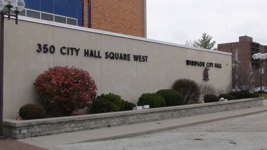 In this photo Windsor City Hall is seen. (BlackburnNews.com file photo. )