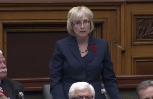 Screen capture from Question Period video.